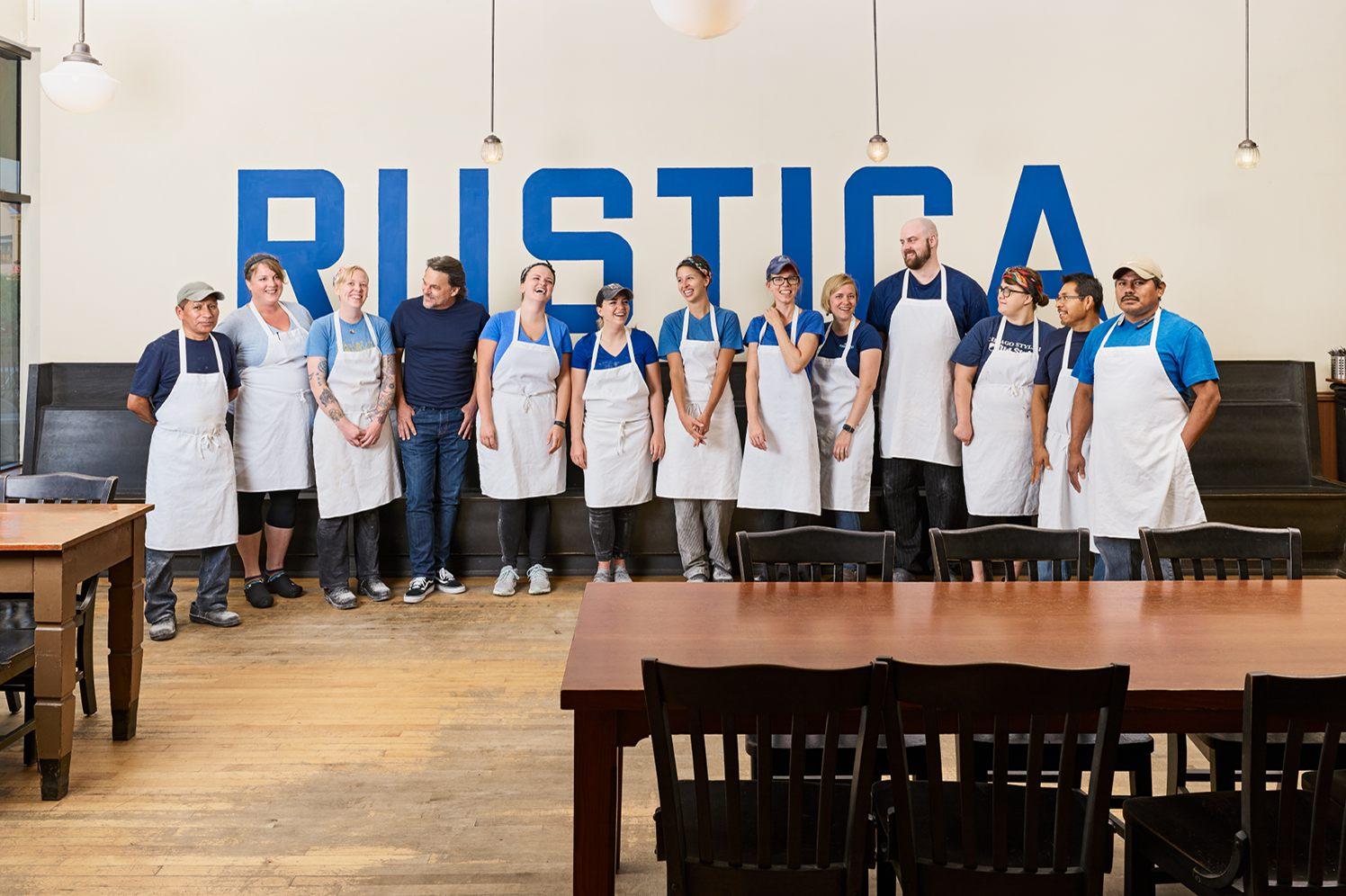 rustica bakery employees