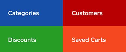 Retail App Quick Tiles