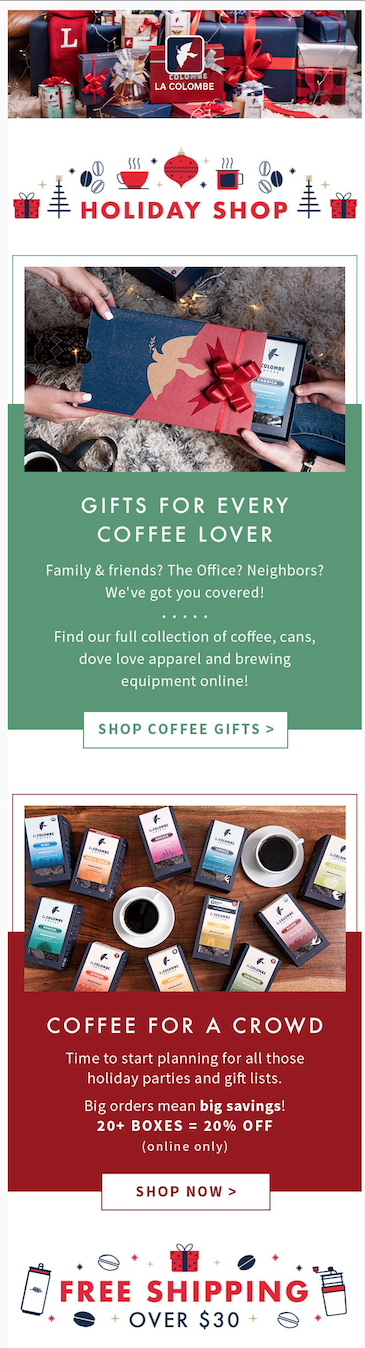 La Colombe Merchant Email