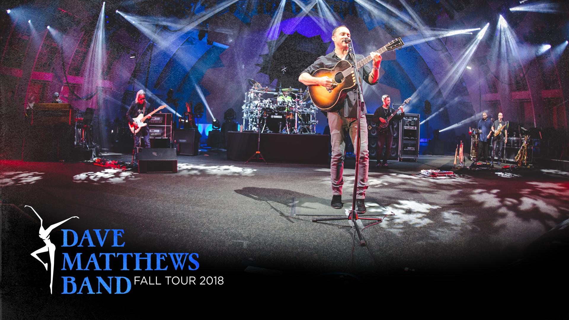 Dave Matthews Band Fall Tour