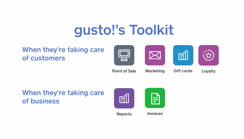 gusto's toolkit