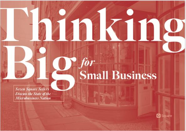 thinking big report