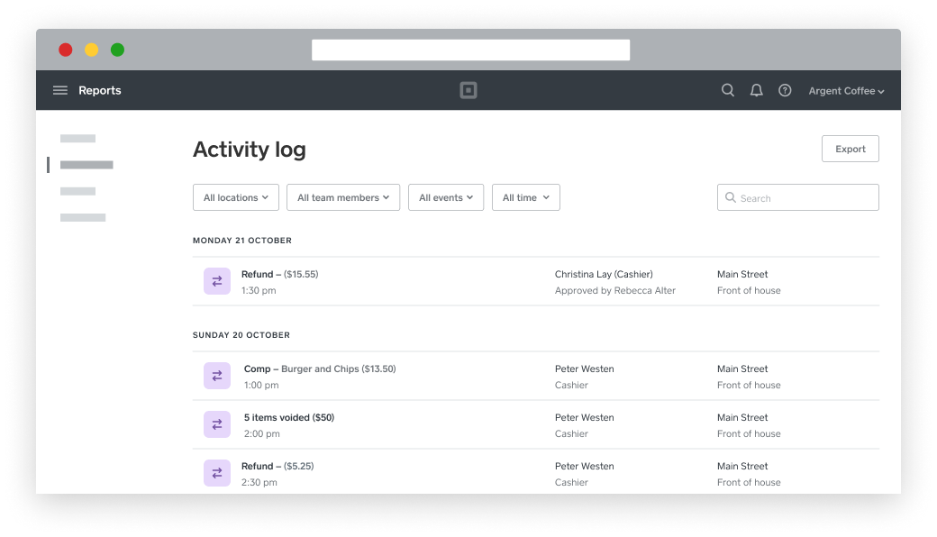 Team Management - Activity Log - AU - EN