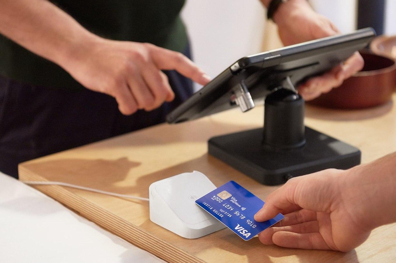 POS and chip + pin reader