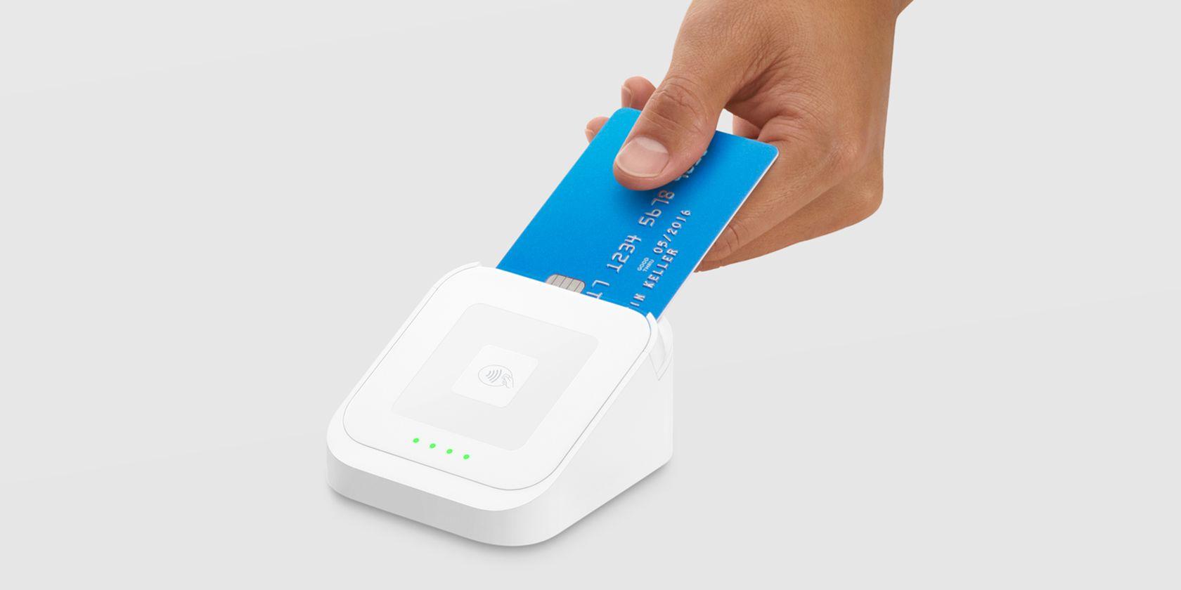Carte de crédit insérée