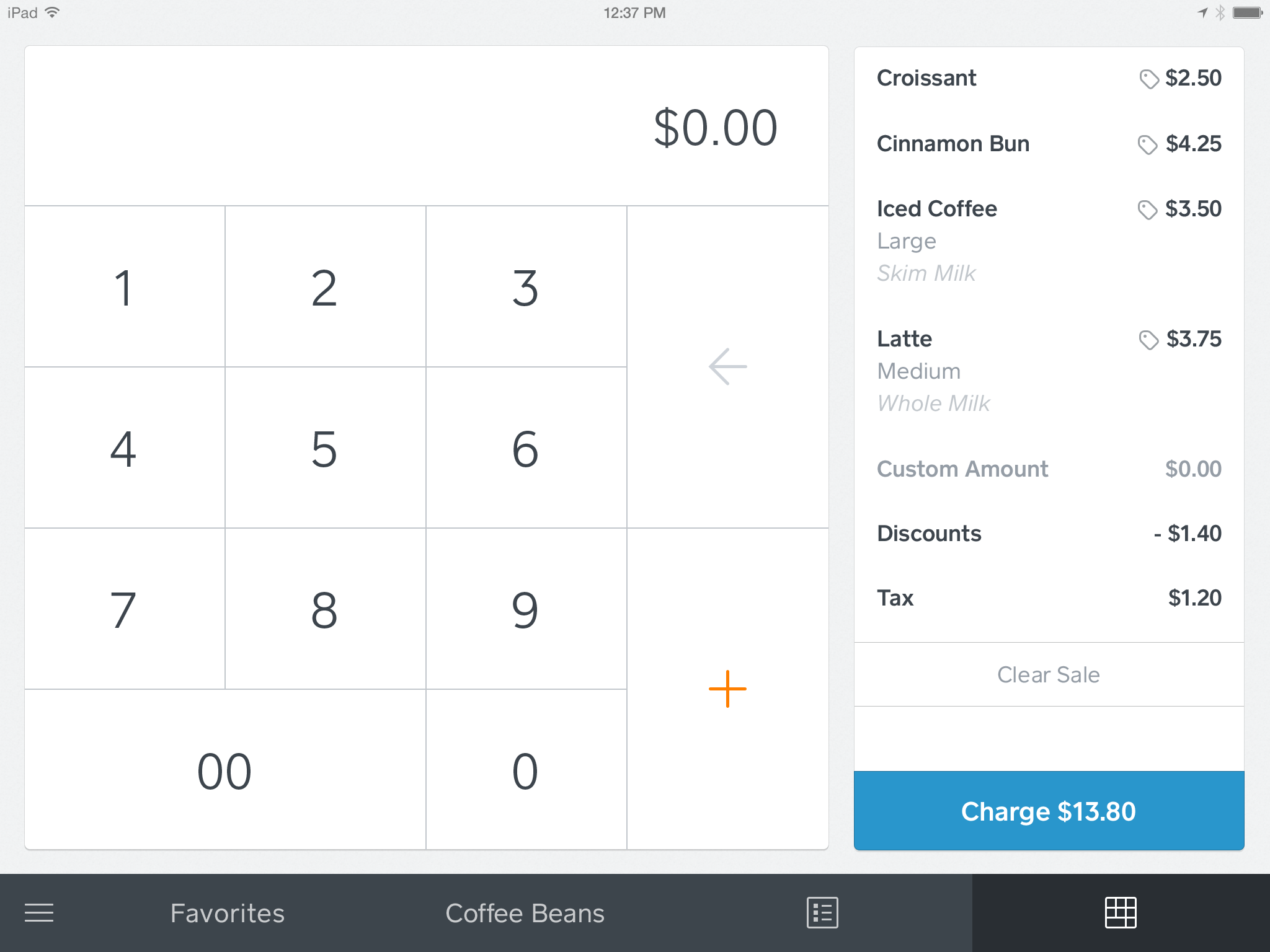 Enter amount