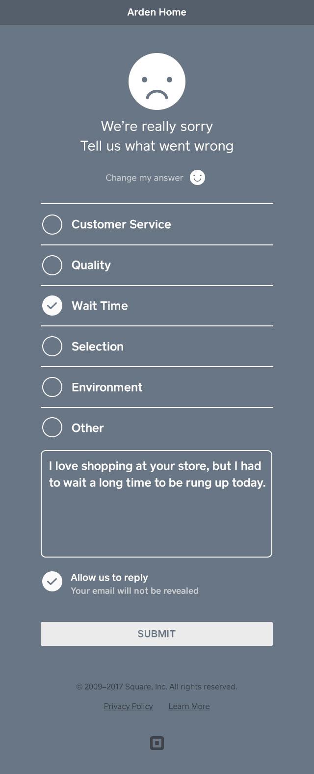 brindar comentarios adicionales sobre la experiencia con el comerciante