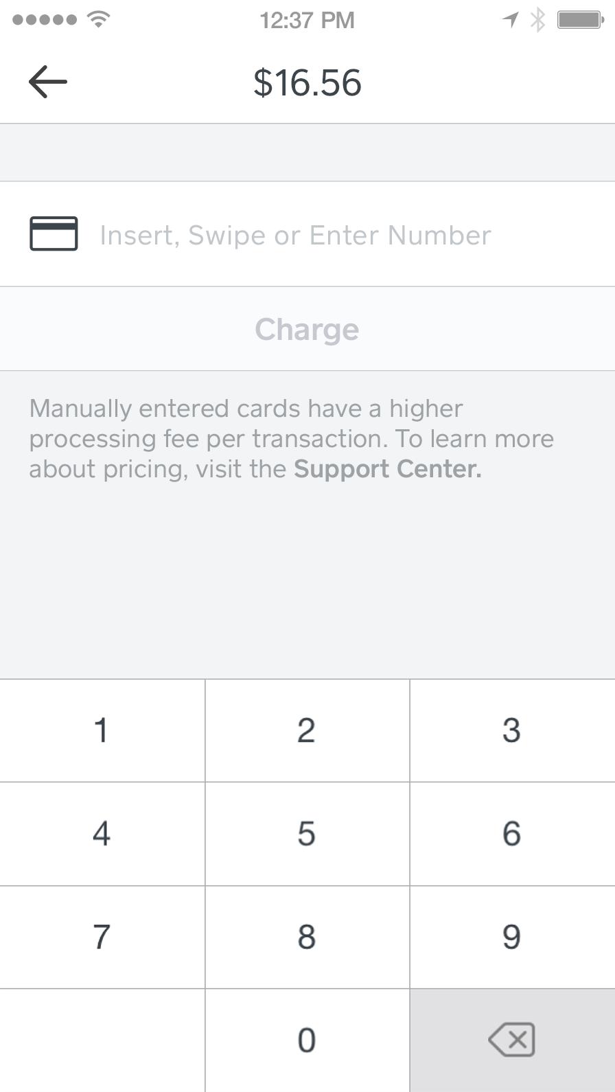 Enter Card Information