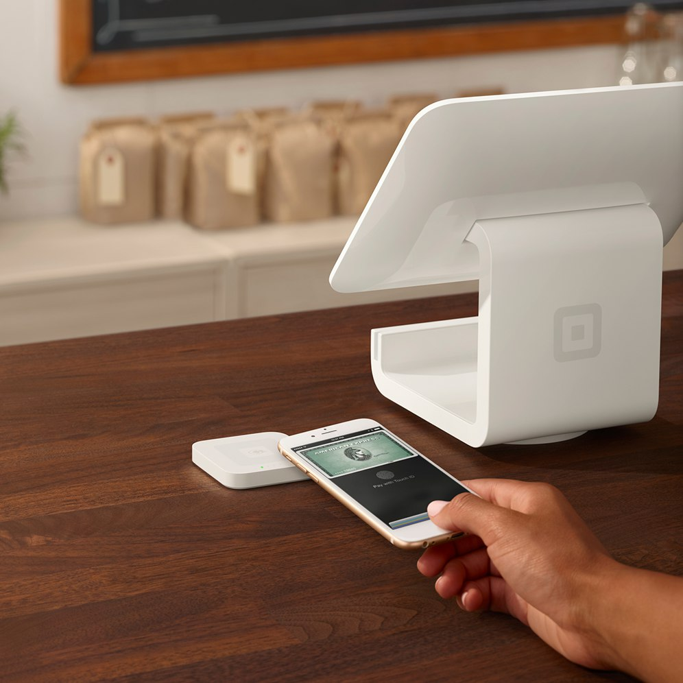 Image result for SQUARE CREATES APPLE PAY READER