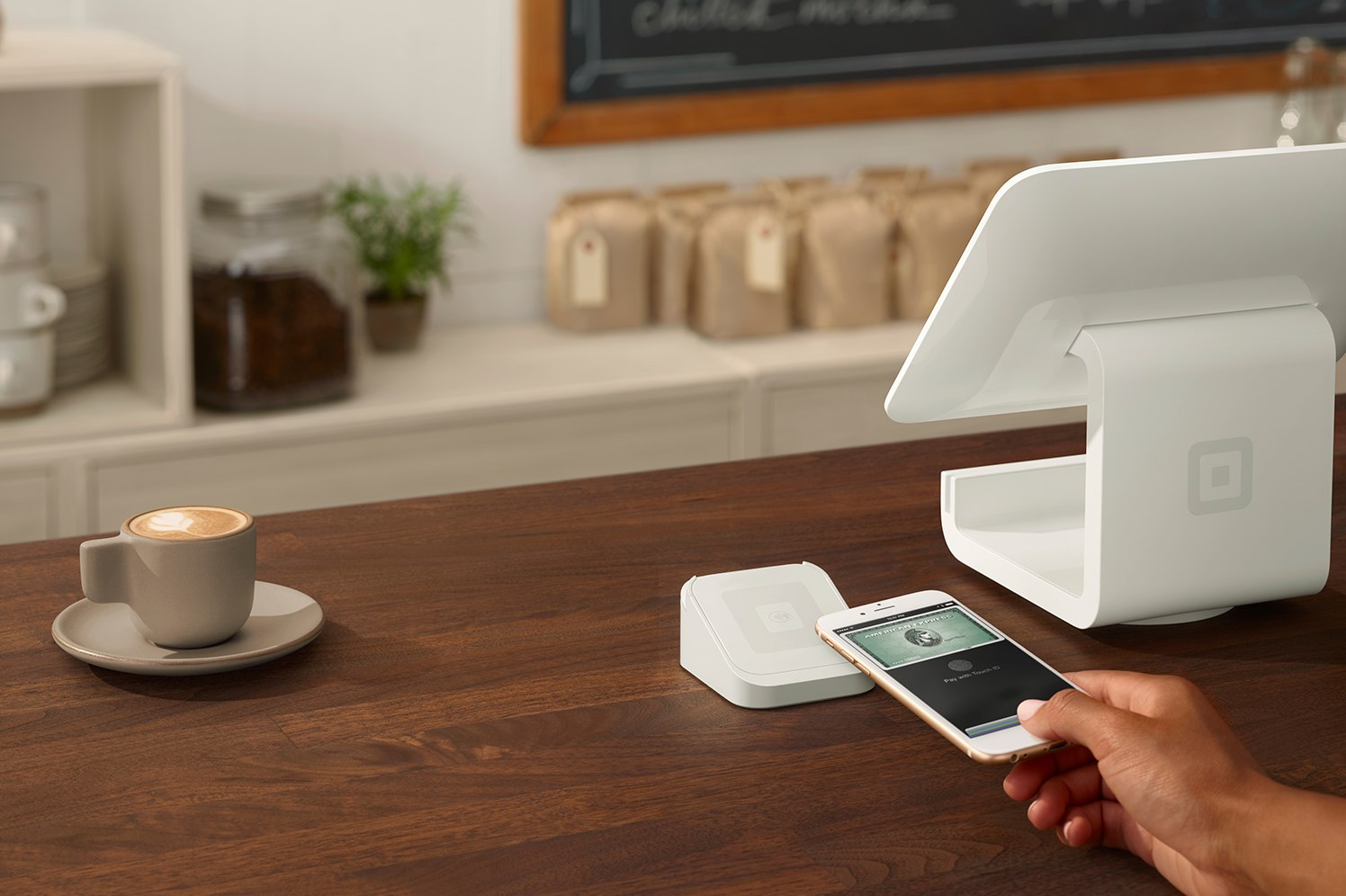 apple pay with square POS