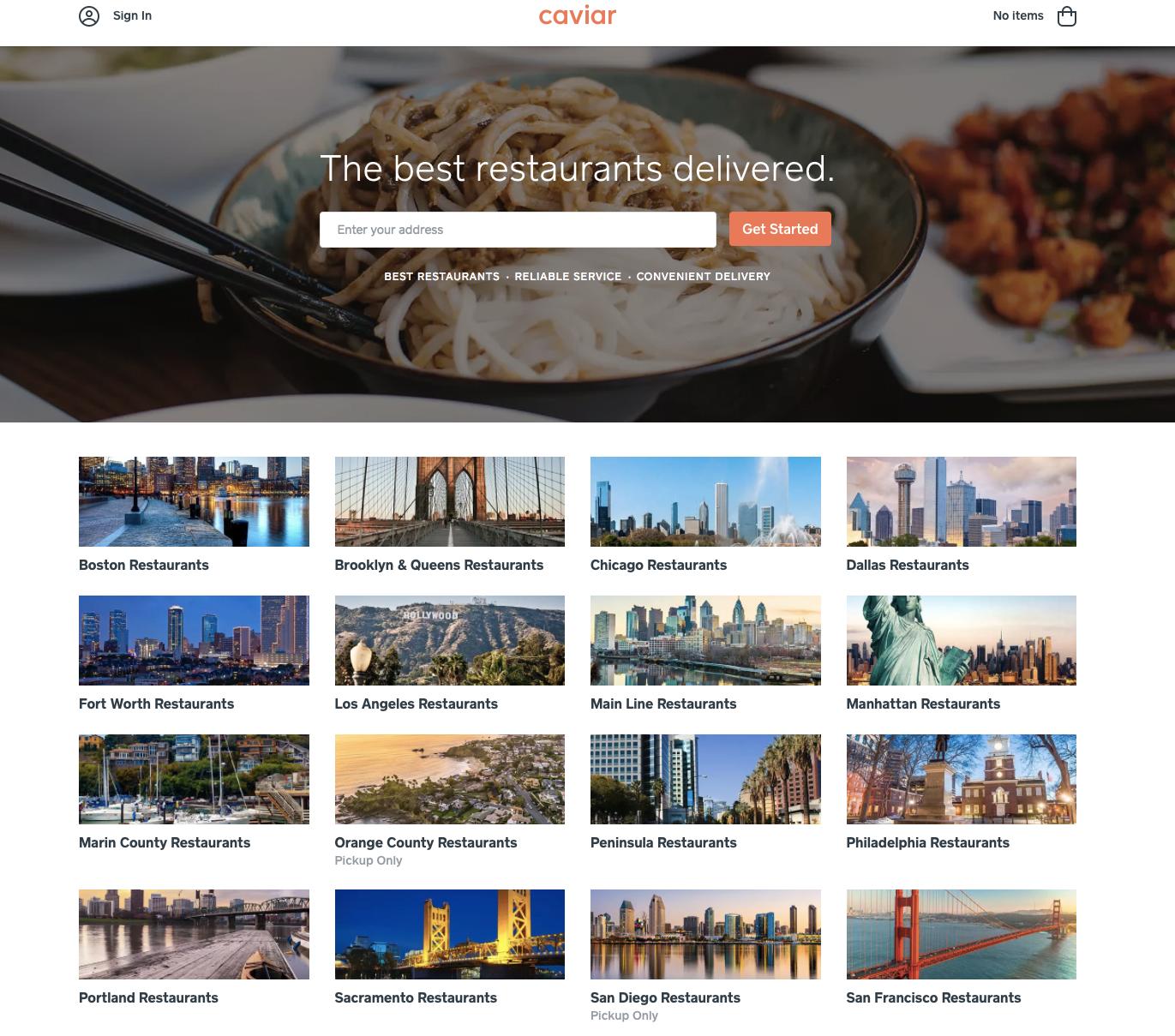 caviar-homepage