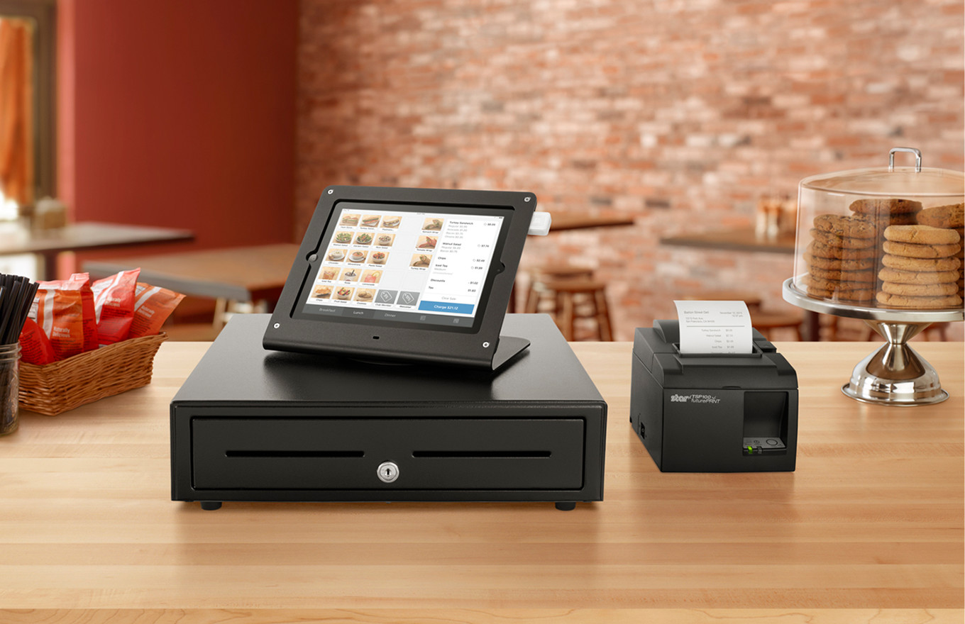 Purchase Square point-of-sale hardware online
