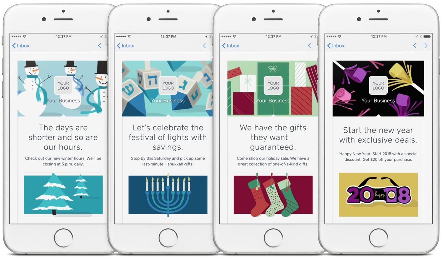 Up Your Holiday Marketing Game With New Email Templates And Promotions