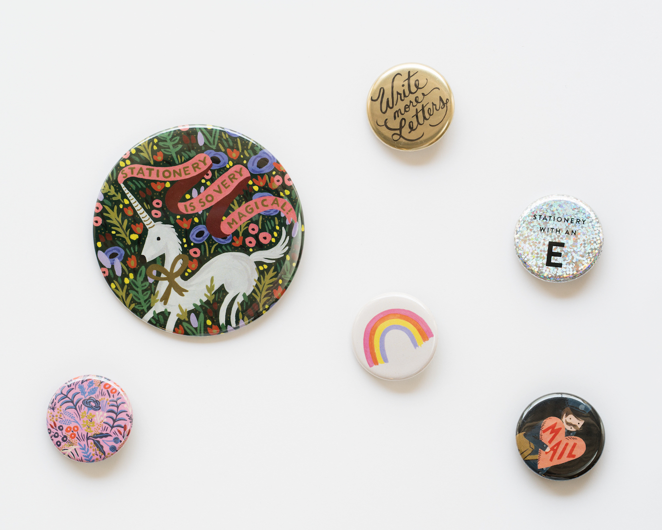 Rifle Paper pins