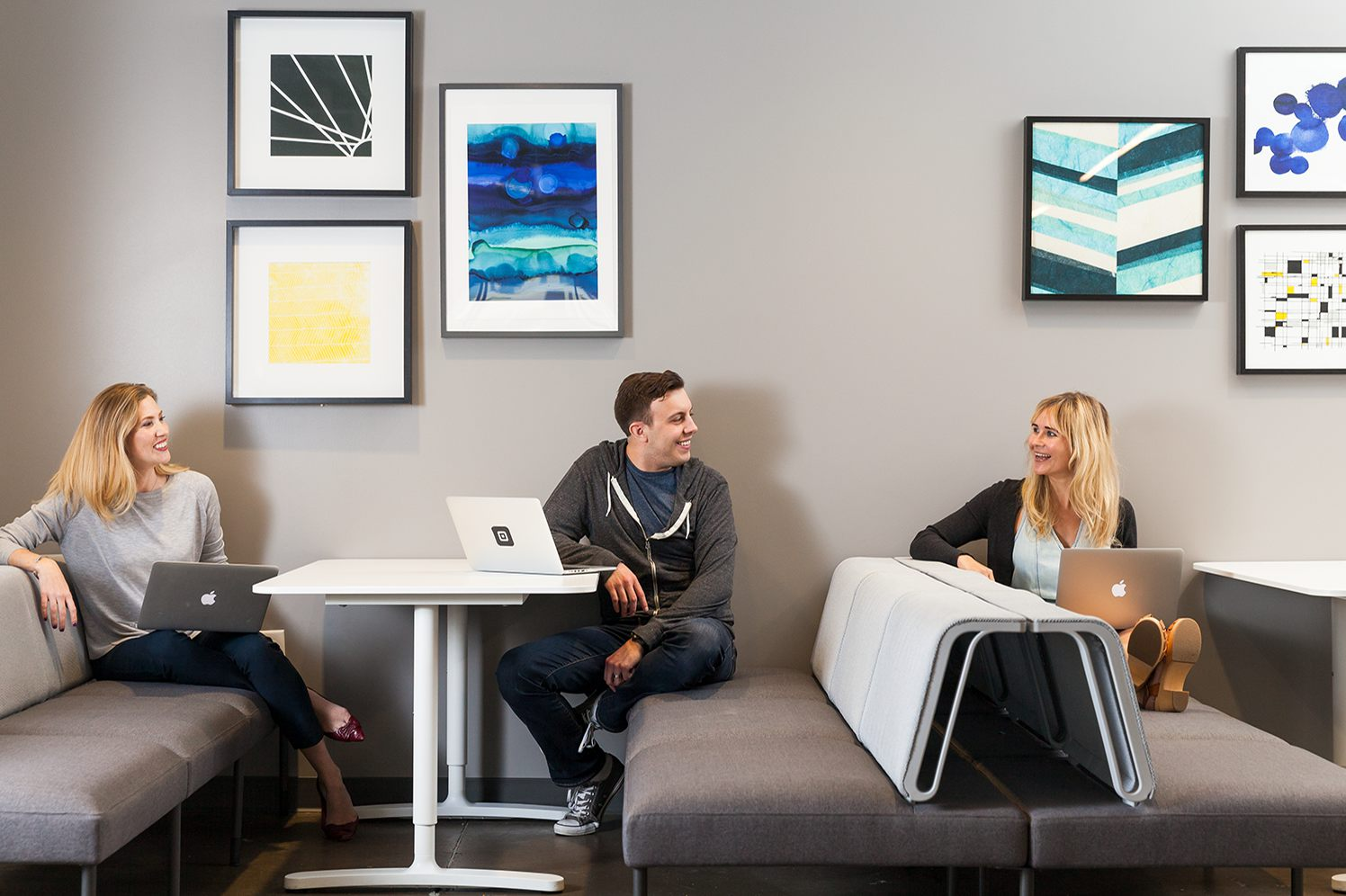 square employees in the st. louis office