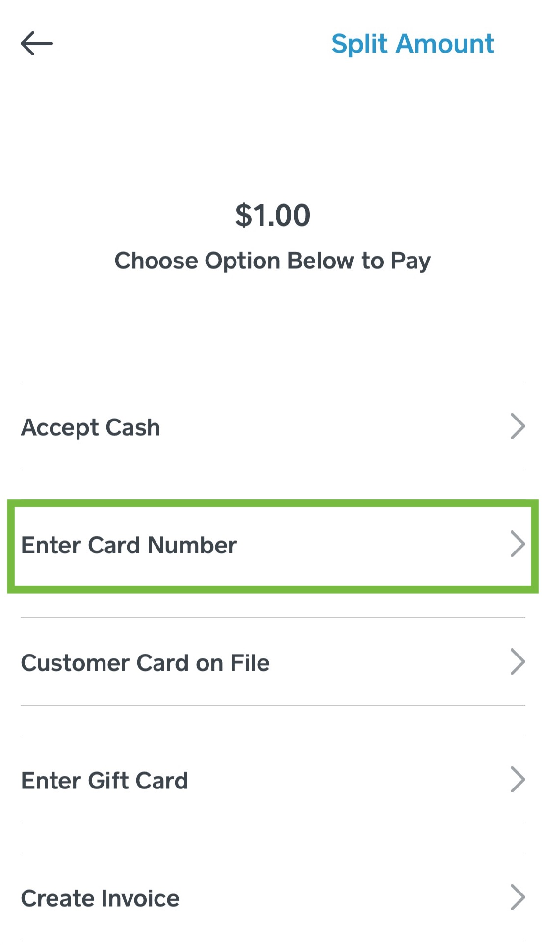 Payment Types in iOS