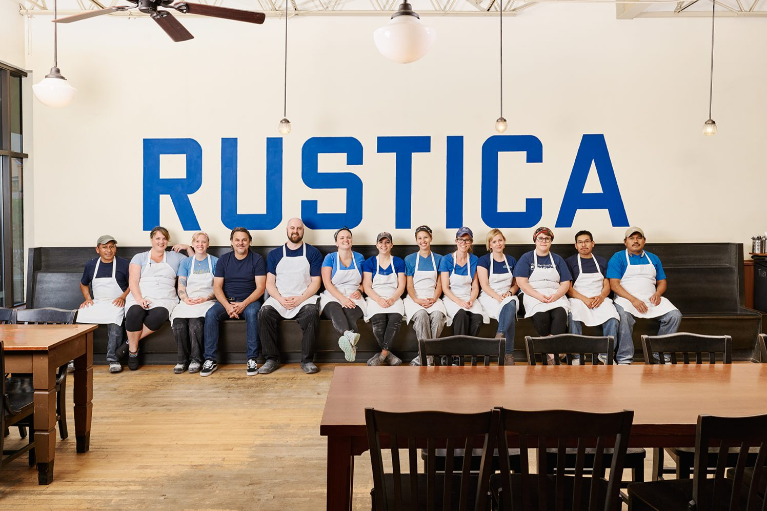 Square payroll customer, Rustica bakery