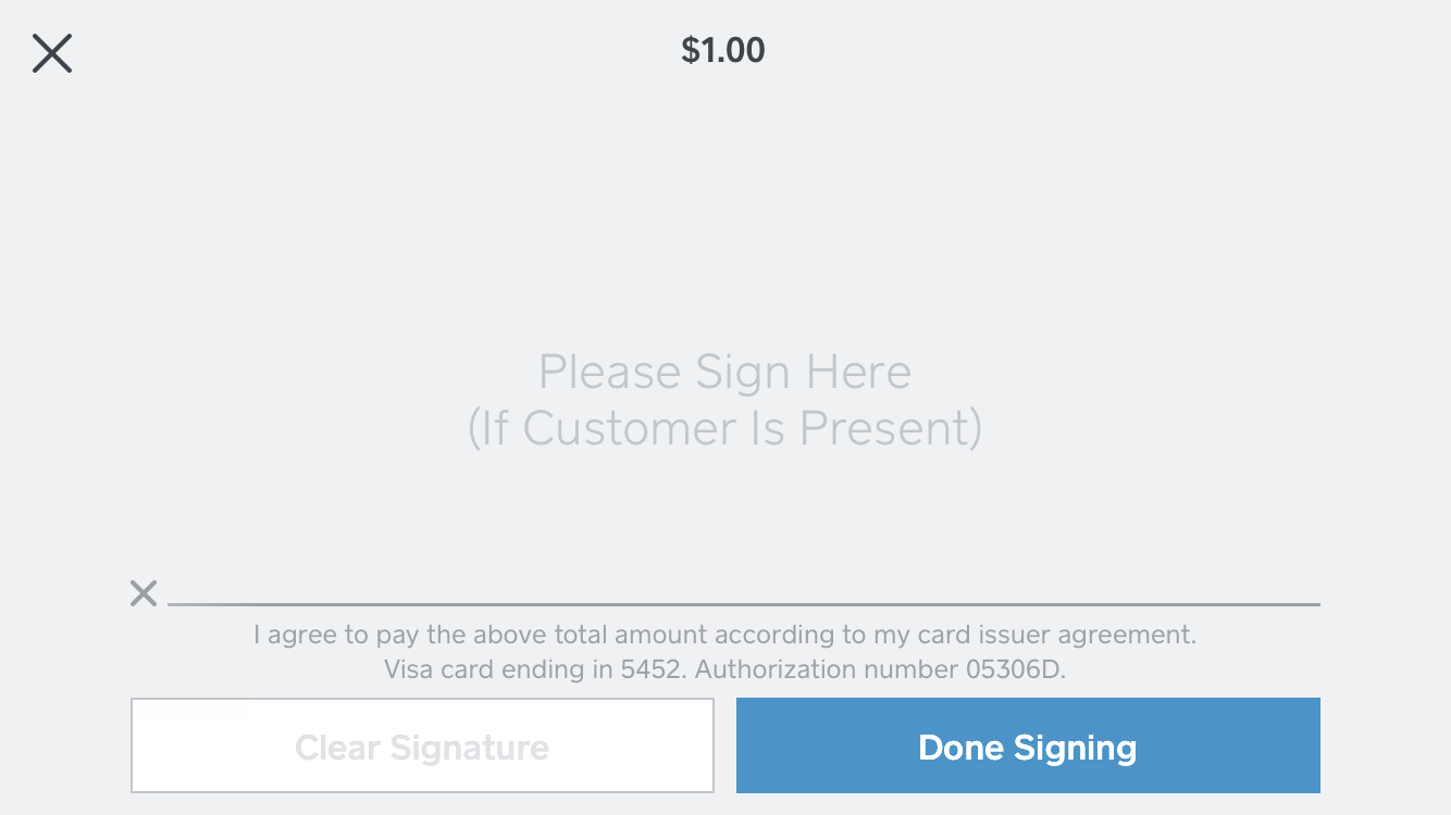Manually Enter Card Payments Without The Square Reader