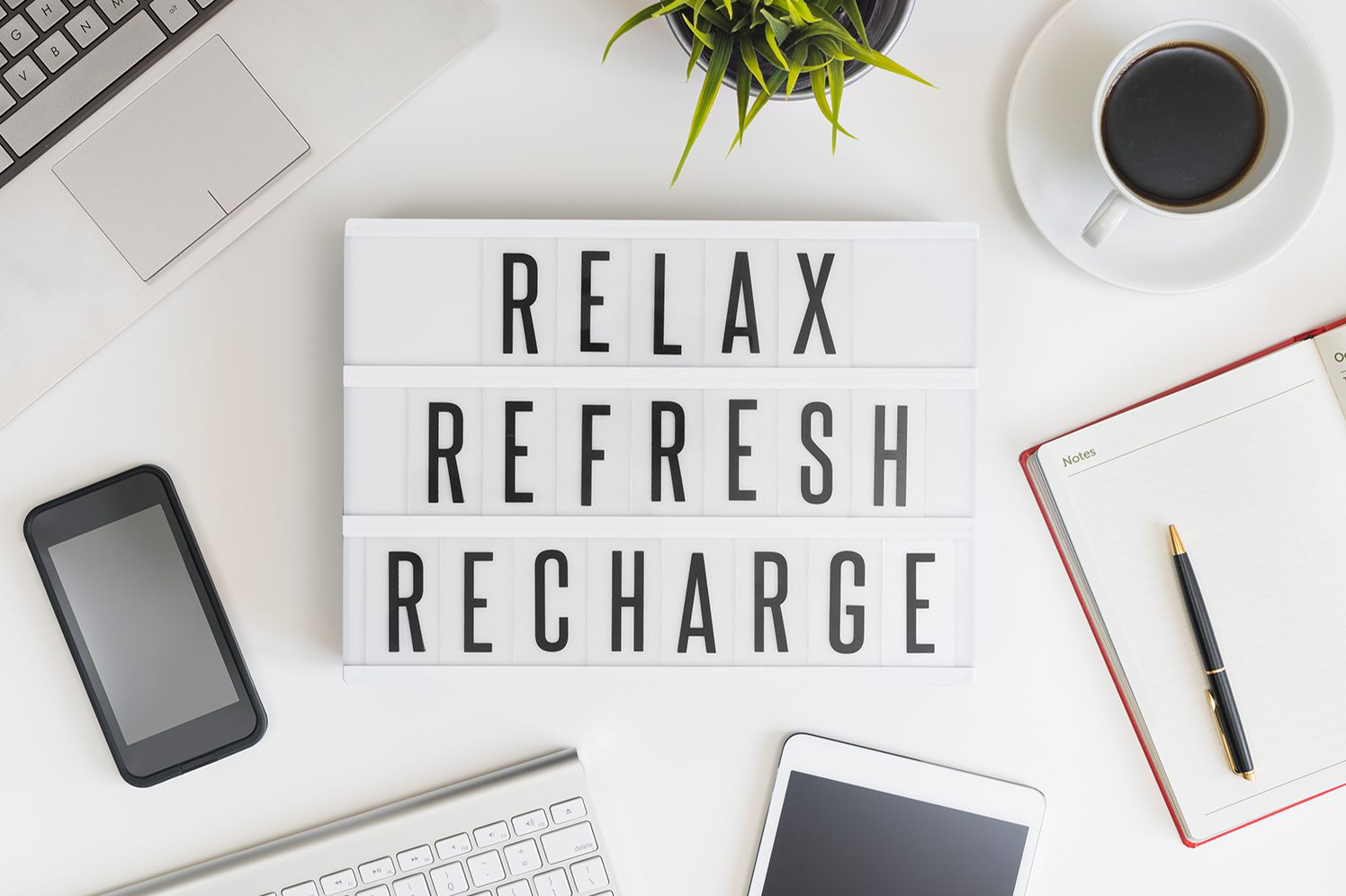 relaxing and recharging for entrepreneurs