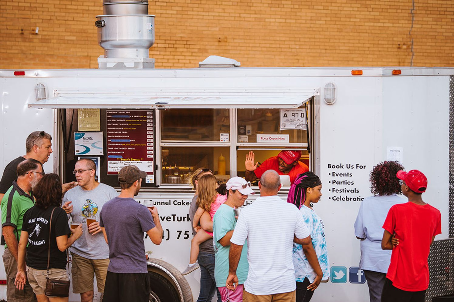 marketing a food truck