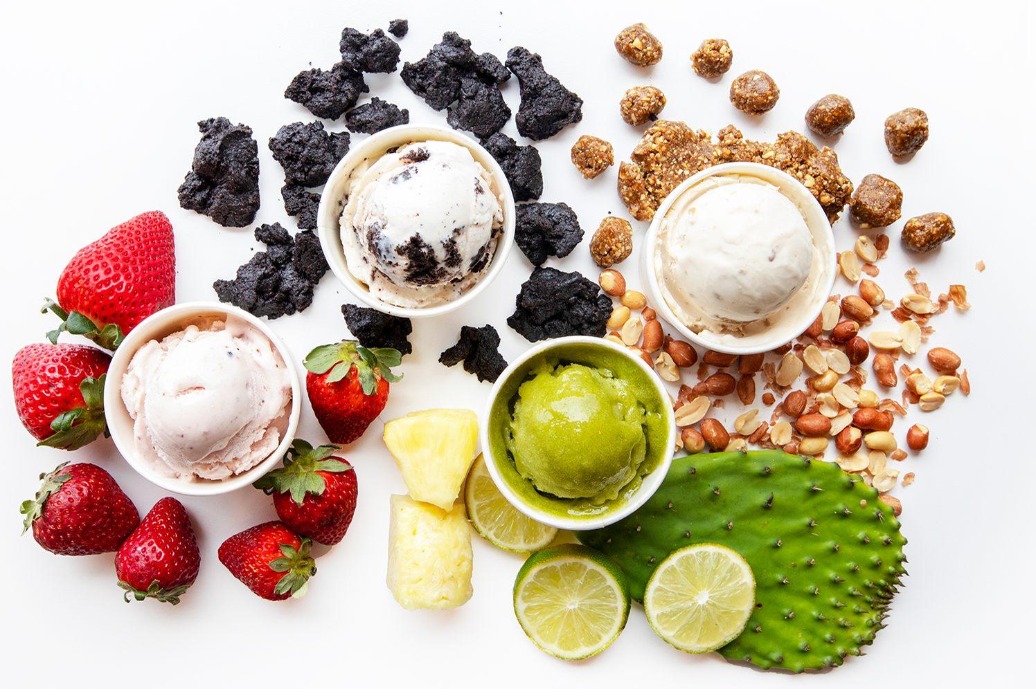 Melt ice creams