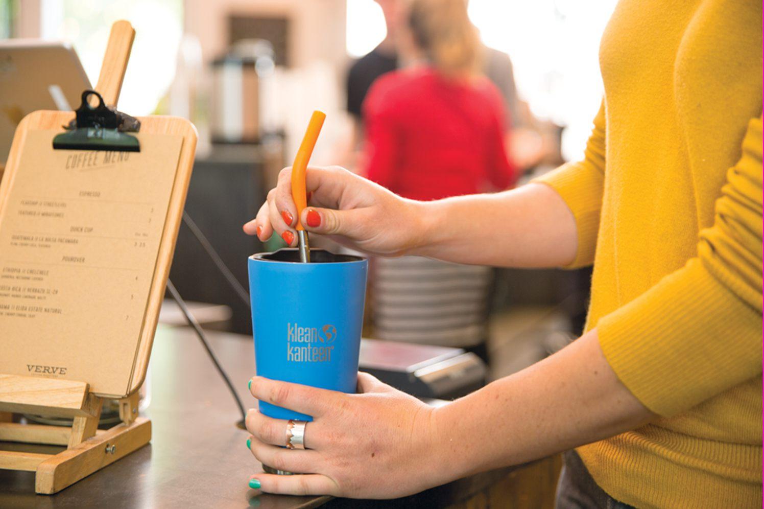 klean kanteen stainless straw