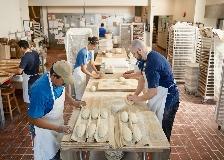 bakery employees